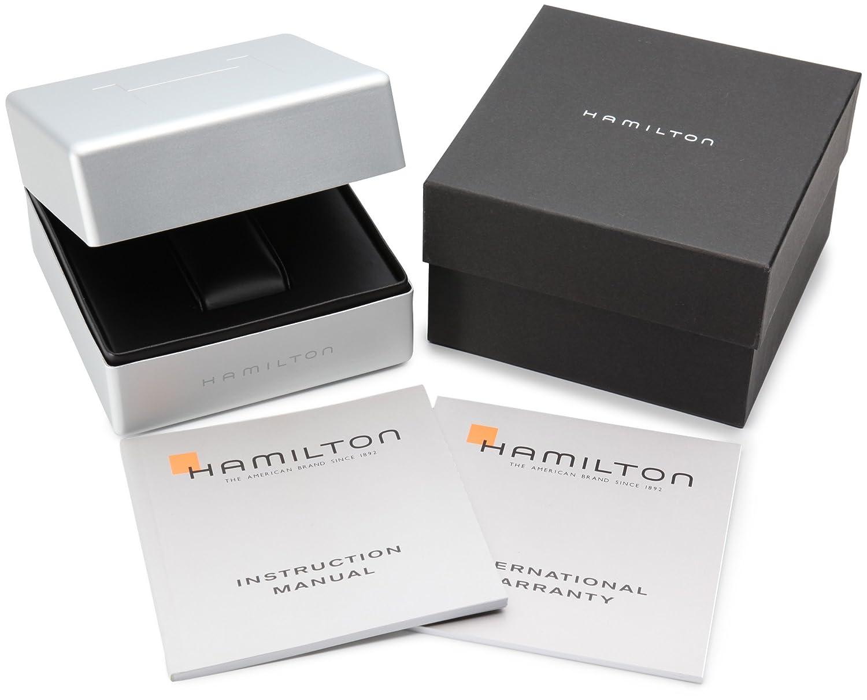 Hamilton Men s H78575393 Khaki Navy BelowZero Black Dial Watch
