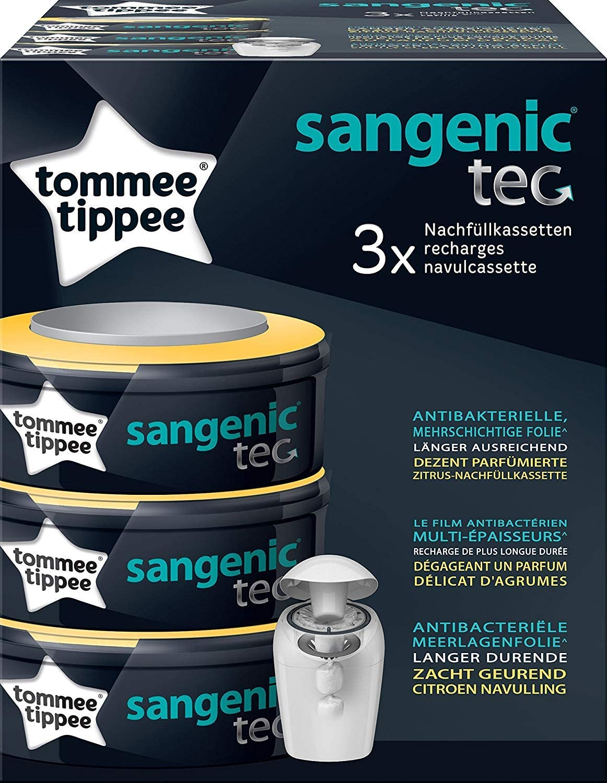foreign brand No Name Sangenic TEC pacco da 3 Zitrus Nachf/üllkassetten per Windeleimer