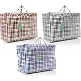 Acan Pack de 6 Bolsas de Rafia 44 x 39 x 10 cm: Amazon.es: Hogar