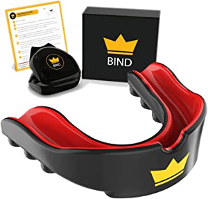 Youth Mouth Guard Sports - Custom Mouldable Gel Fit Mouthguards