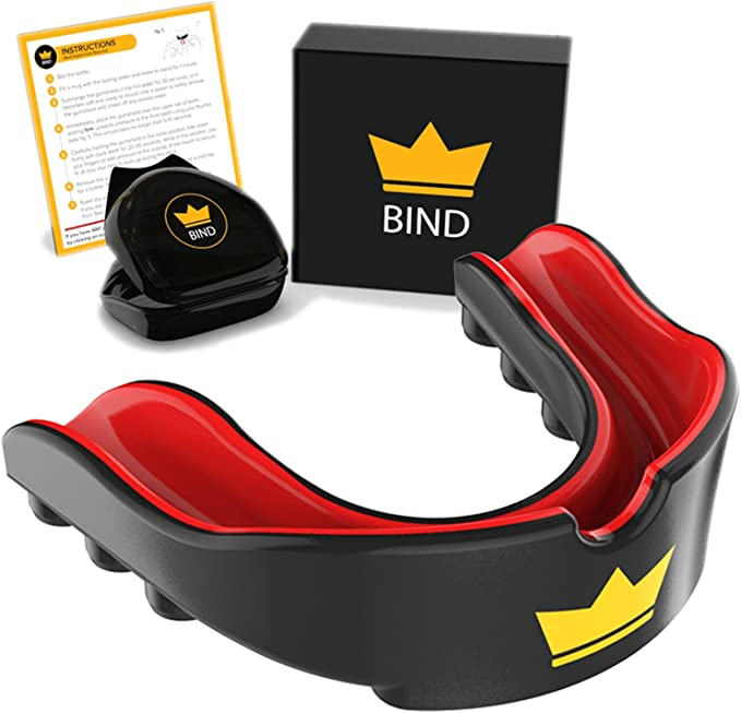 Flag Football Martial Arts Custom Fit for Adult//Youth BJJ Boxing - Karate Hockey Suddora Mouth Guard MMA BPA Free Rugby