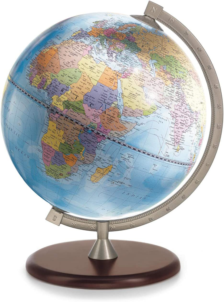 Tre-Esse Firenze James Cook Mapamundi de Escritorio Mapa político ...