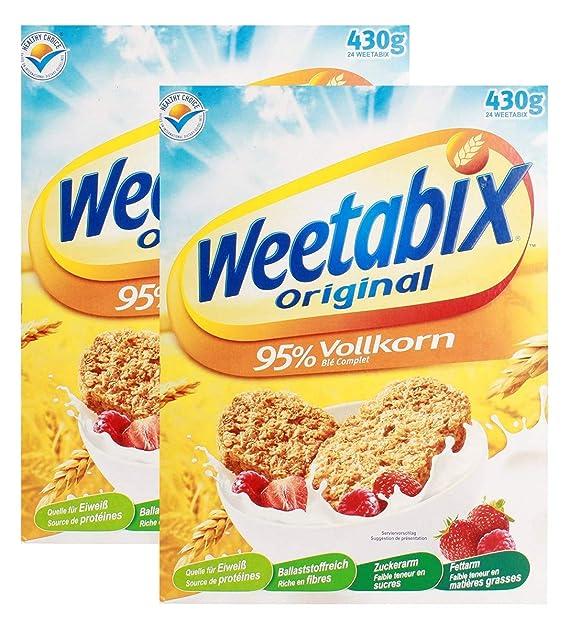 Weetabix Original Whole Grain - Cereales para el desayuno ...