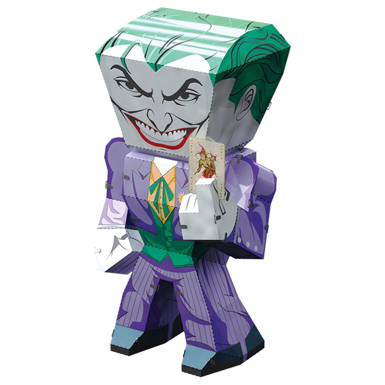 Fascinations Metal Earth DC Justice League The Joker 3D Metal Model Kit