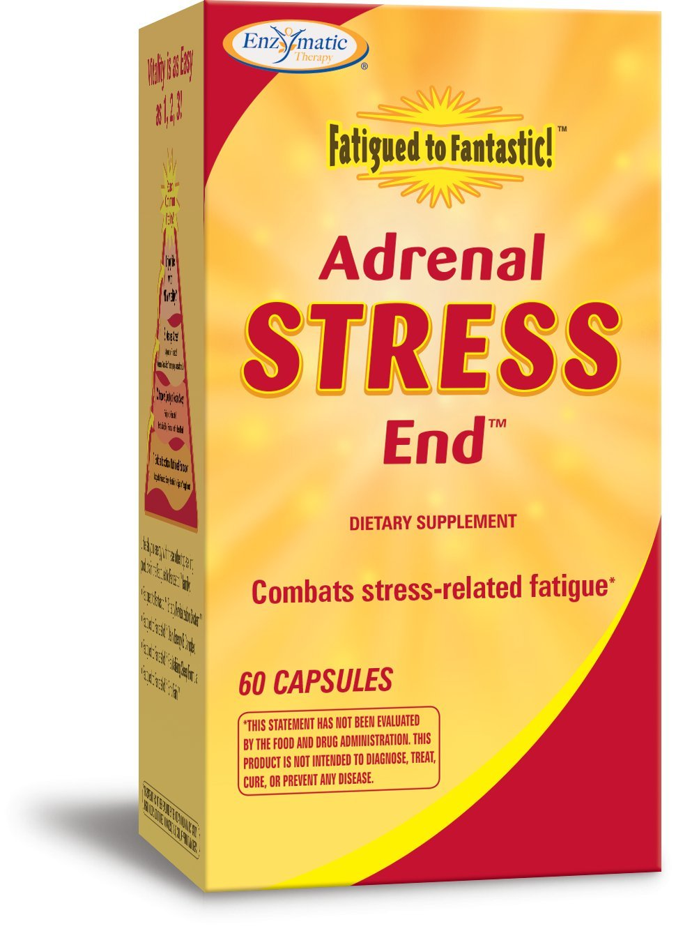 Amazon enzymatic therapy fatigued to fantastic end pain enzymatic therapy fatigued to fantastic adrenal stress end 60 capsules negle Images