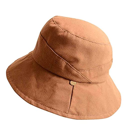 04b2ee999c3 Ladies Bucket Summer Sun Hat Foldable Wide Brim Beach Cap Leisure Shade  Fisherman Hat