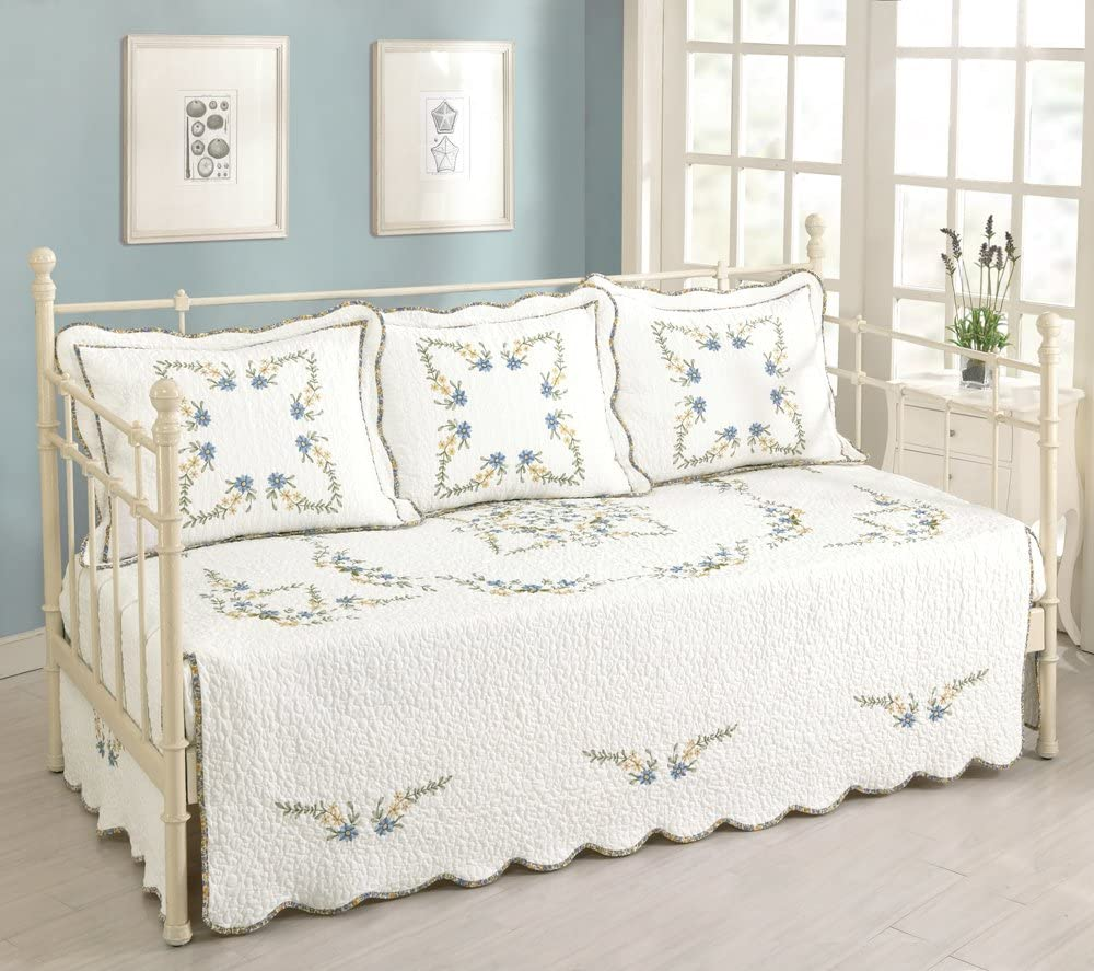 B01E6BERAM Modern Heirloom Collection, Heather Daybed Cover 71vJ20GhmDL