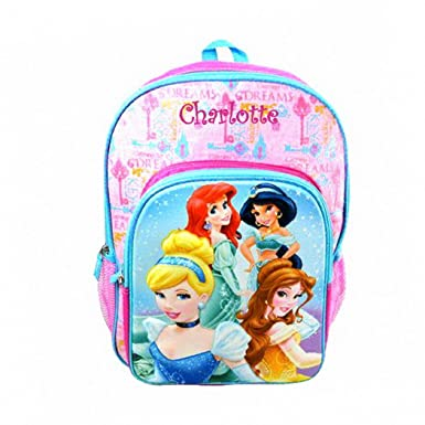 Amazon.com | Personalized Licensed Disney Character Backpack - 16 ...