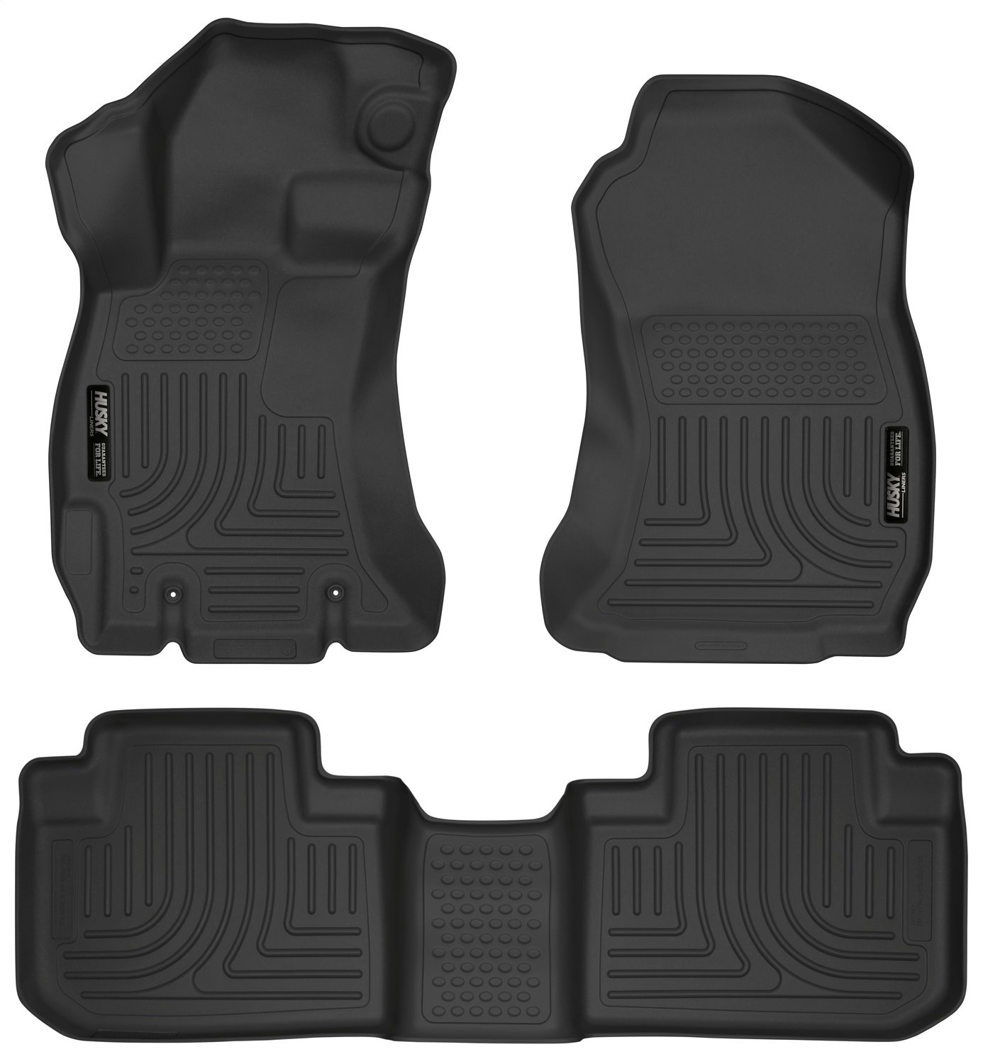 Husky Liners Front & 2nd Seat Floor Liners Fits 14-18 Forester product image