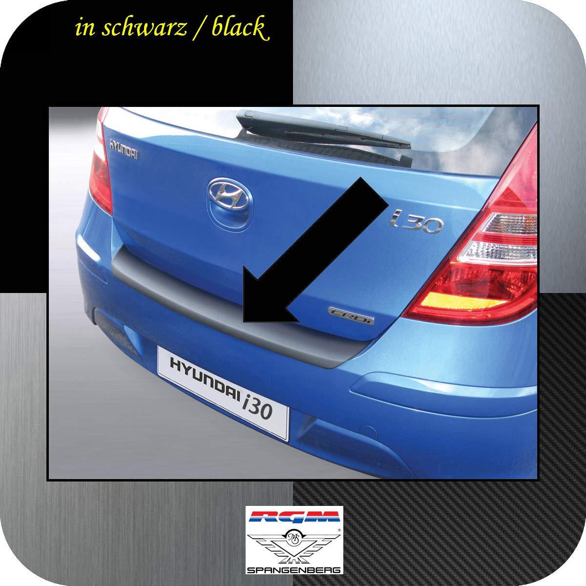 RGM Protection de seuil de Chargement pour Hyundai i30 I hayon 5 Portes /à partir de Facelift Baujahre 07.2010-11.2011 RBP478 Noir FD Richard Grant Mouldings Ltd
