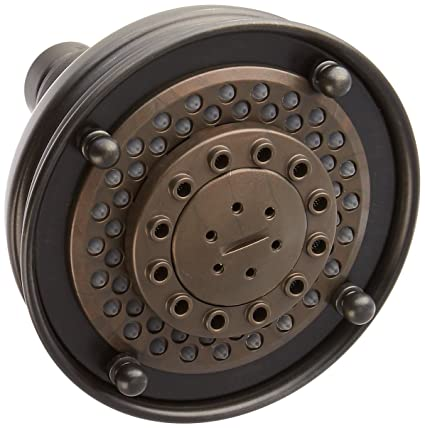 Rohl 1085/8OI Santena Multi-Function Shower Head, Old Iron - Fixed ...