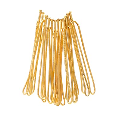 be6be12ca Buy Memoir Gold Plated Saree Dupatta Clip On Safety Pins For Women/ Girls -  Set Of 12 Online at Low Prices in India | Amazon Jewellery Store - Amazon.in