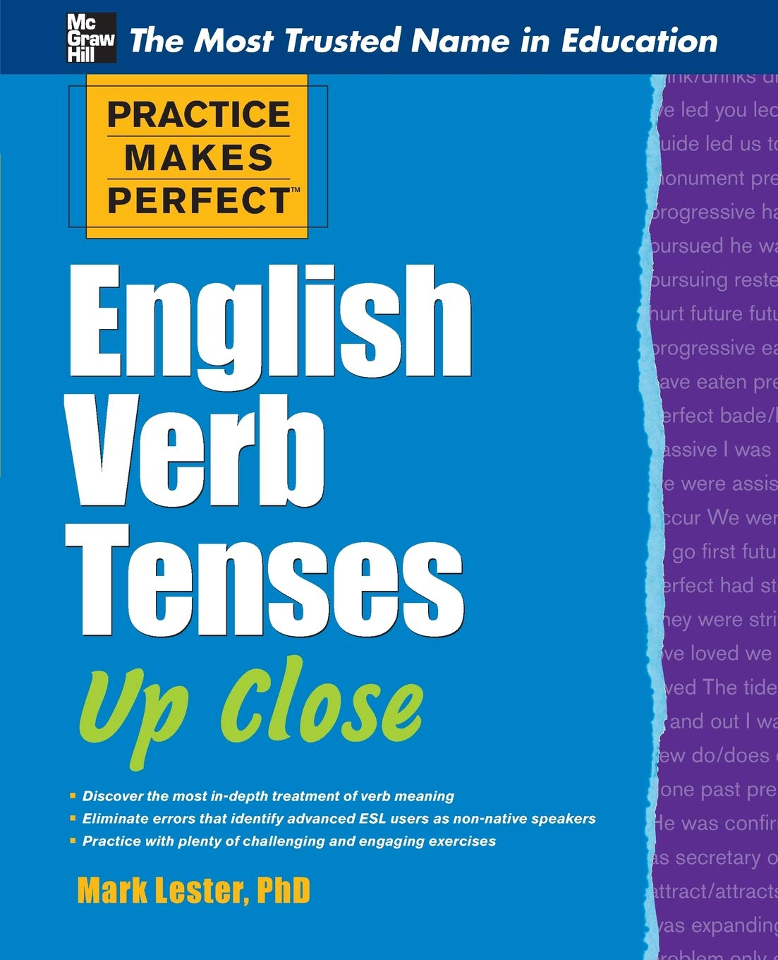 Practice Makes Perfect English Verb Tenses Up Close (Practice Makes Perfect  Series): Amazon.co.uk: Mark Lester: 9780071752121: Books