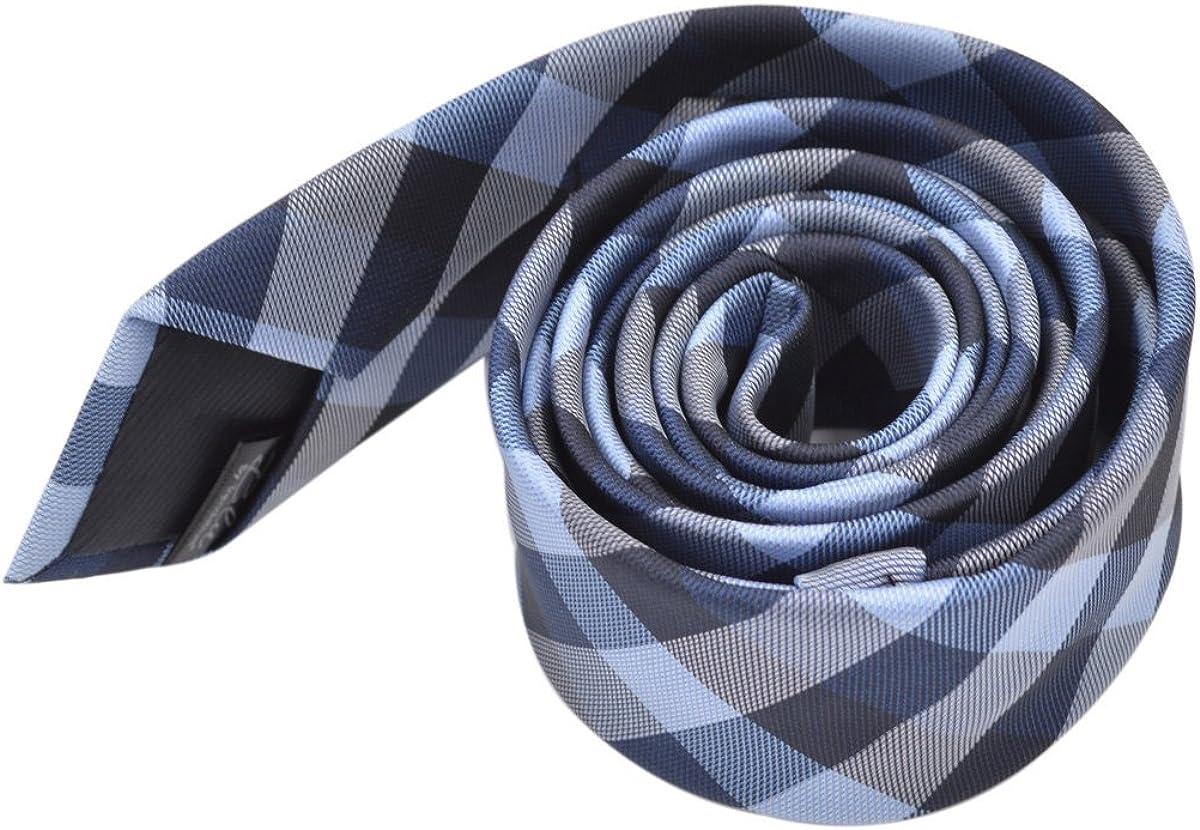 "Diff Colors Avail Premium Checker Plaid 2/"" Skinny Necktie Neck Tie"