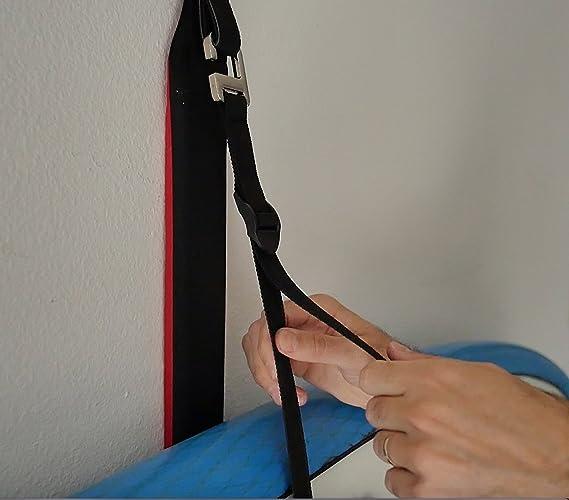 COR Surf Kayak Storage Eslinga acolchada para kayak / soporte de pared para kayak / marca iniciada por surfistas