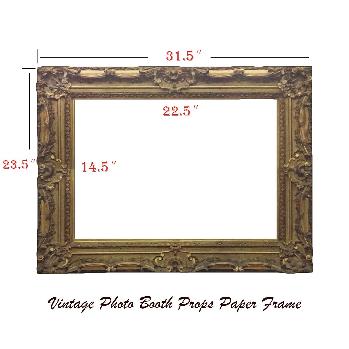Amazon vintage party photo booth frame prop christmas with amazon vintage party photo booth frame prop christmas with card frame 315235 for wedding birthday christmas party kitchen dining jeuxipadfo Image collections
