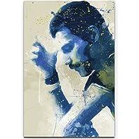 Paul Sinus Art Pyramid International - Stampa su Tela Freddie Mercury VII, 90 x 60 cm