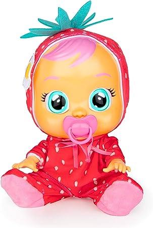 CRY BABIES Tutti Frutti Ella The Strawberry Scented Baby Doll