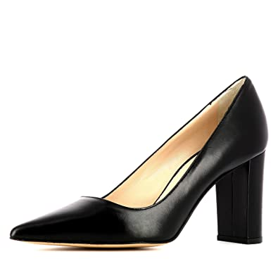 Femme Evita Cuir Jessica Escarpins Shoes Lisse qpwprAt