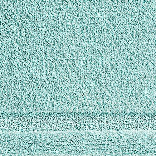 "InterDesign Microfiber Spa Bathroom Accent Rug, 34"" x 21'' Inches, Mint by InterDesign (Image #3)"