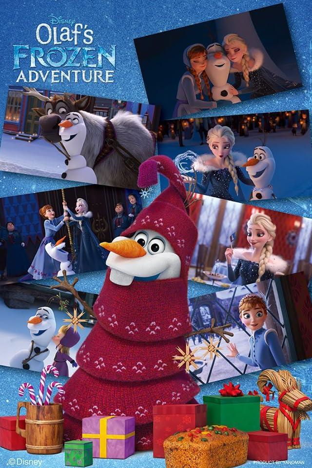 ディズニー アナと雪の女王 家族の思い出 オラフの冒険 iPhone(640×960)壁紙画像