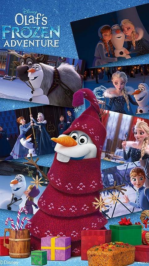 ディズニー アナと雪の女王 家族の思い出 オラフの冒険 XFVGA(480×854)壁紙画像