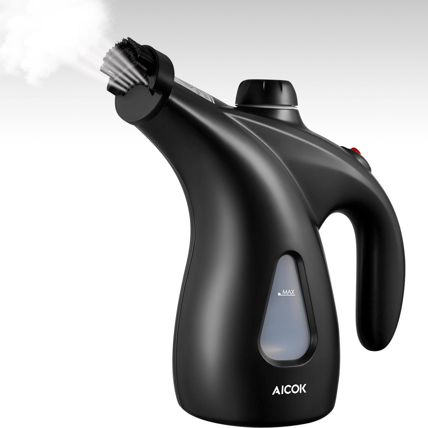 AICOK Garment Steamer, 950W Steamer for Clothes, 200ml Portable Handheld Fabric Steamer for Home and Travel, 40s Fast Heat-up, with Pouch and Brush, Black by AICOK