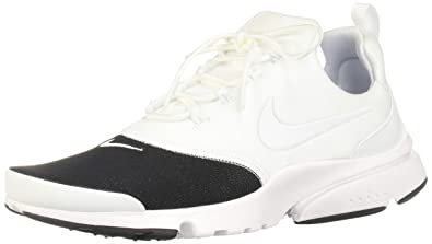 new product 739a3 e105f Nike Women s Air Presto Fly PRM White Black AO3156-100 (Size  6
