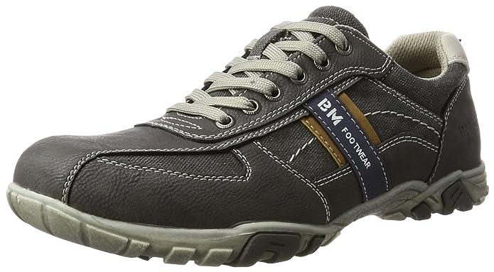 Bajo De Sintética Piel Gris Bm Footwear Hombre Color Tobillo 2710602 wqttAI
