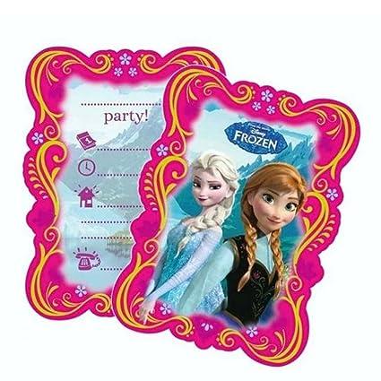 Disney Frozen Fiestas Y Cumpleaños Tarjetas De