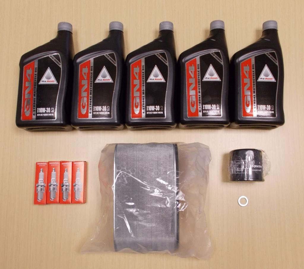 New 2003-2013 Honda ST 1300 ST1300 OE Complete Oil Service Tune-Up Kit