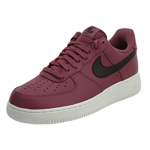 official photos 72722 43616 Nike Men s Air Force Sneakers, Multicolour (Vintage Wine Black-s 601)