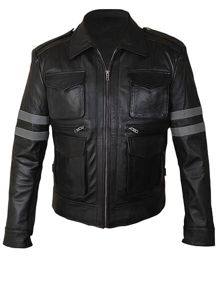 Leatherly Chaqueta de hombre LEON Resident Evil 6 Sintético ...