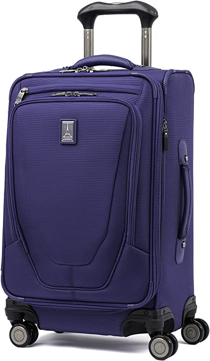 Travelpro Luggage Crew 11 25 Expandable Spinner Suitcase w//Suiter Indigo