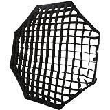 "Godox Portable Octagon 80cm / 32"" Only Grid Umbrella Photo Softbox Reflector for Flash Speedlight Only Grid"