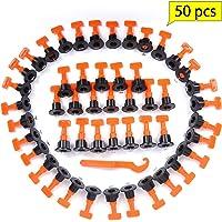 Niveladores de azulejo de 50 piezas, sistema