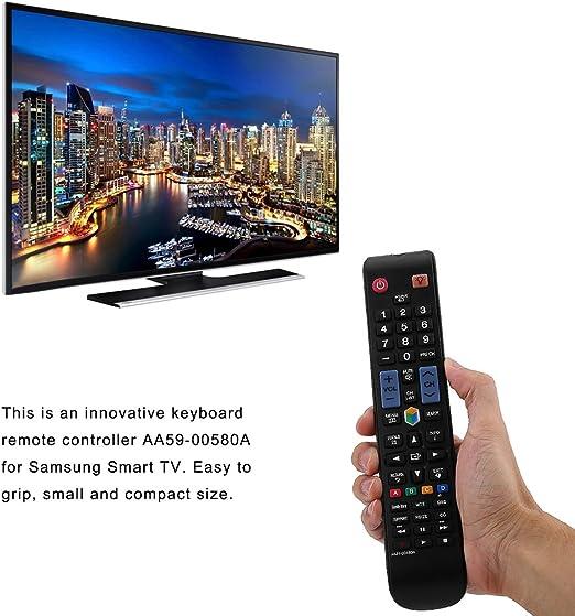 Smart TV Control Remoto AA59-0058A para Samsung Control Remoto de Repuesto para Samsung Smart TV: Amazon.es: Electrónica
