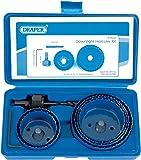 Draper 89716 - Juego de accesorios para sierra perforadora (especial focos de techo, 9 piezas)