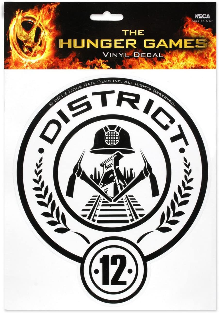 "The Hunger Games Movie ""District 12"" Laptop Decals"