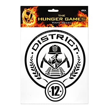 Neca The Hunger Games Movie District 12 Laptop Decals Amazon