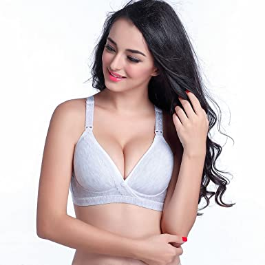 ddf01c52e5f1c Image Unavailable. Image not available for. Colour  Startony Seamless  Cotton Matertity Nursing Wire Free Sleep for Breastfeeding Bra