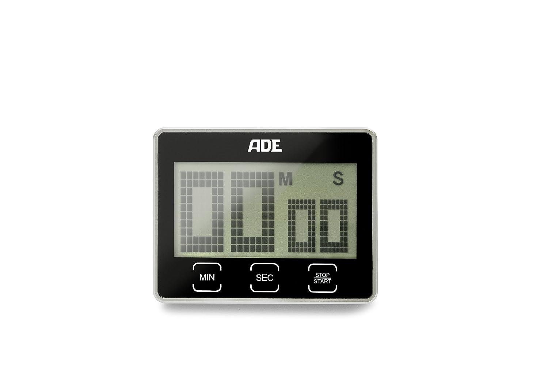 ADE Digitaler Küchentimer TD 1203 mit extra großem XL LCD-Display ...