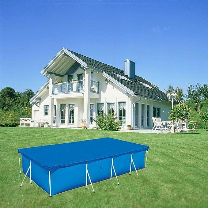 XUXN - Funda para piscina, impermeable, resistente a los rayos UV, varios tamaños al aire libre, LO1511055PRA0J, 260 ...