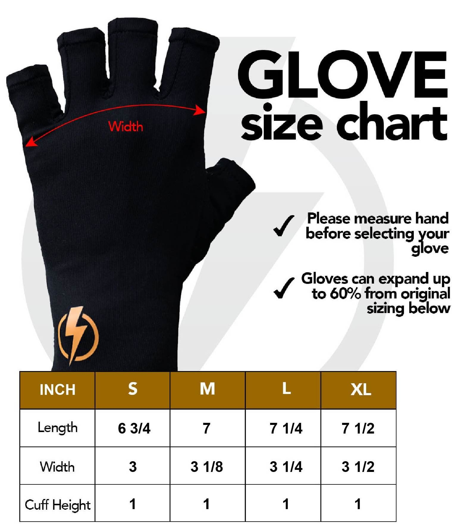 Copper Infused Compression Fingerless Arthritis Gloves Help Relieve Pain in Your Fingers Hand and Wrist | Improve Mobility and Circulation and Resume Normal Activities | by Copperstrike - 1 Pair Small