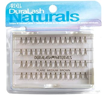 48a9b1e9525 Amazon.com : Ardell Duralash Naturals Combo Pack, Brown, (Pack of 2) : Fake  Eyelashes And Adhesives : Beauty