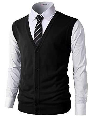 H2H Mens Casual Slim Fit Solid Texture Button-Front Lightweight ...
