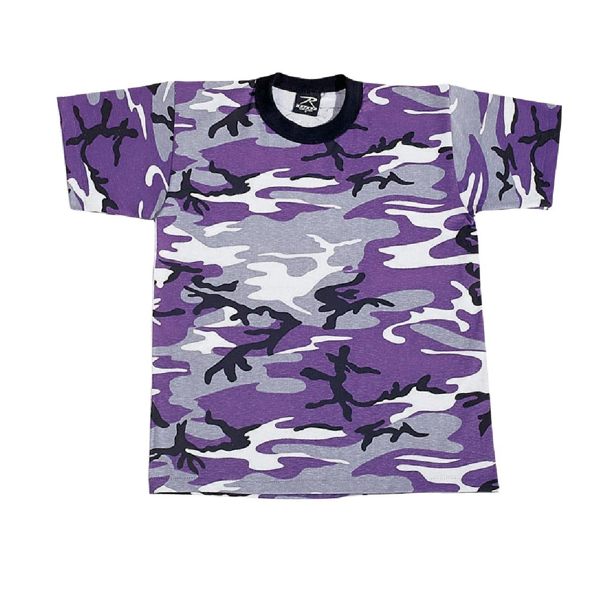 Rothco Kids T-Shirt, Ultra Violet, Medium