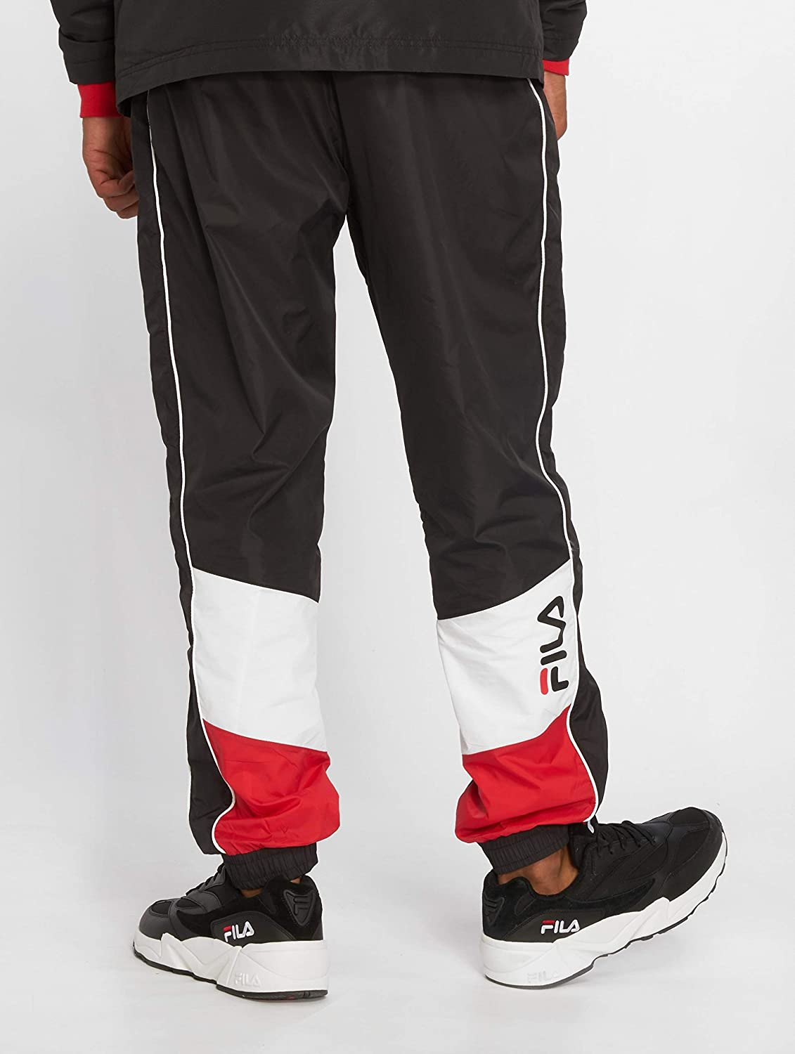 9c842b4a87ce3 Fila Pants Talmon Woven Black XL (X-Large): Amazon.com.au: Fashion