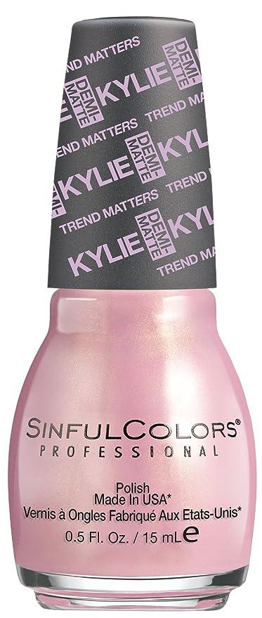 Sinful esmalte de uñas barniz de colores Kylie Jenner - malva sobre ...