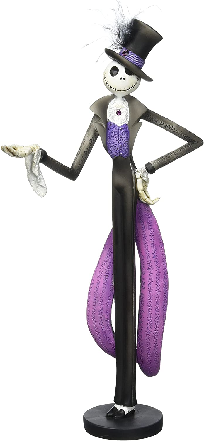 Enesco Disney Showcase The Nightmare Before Christmas Jack Skellington Stone Resin Figurine